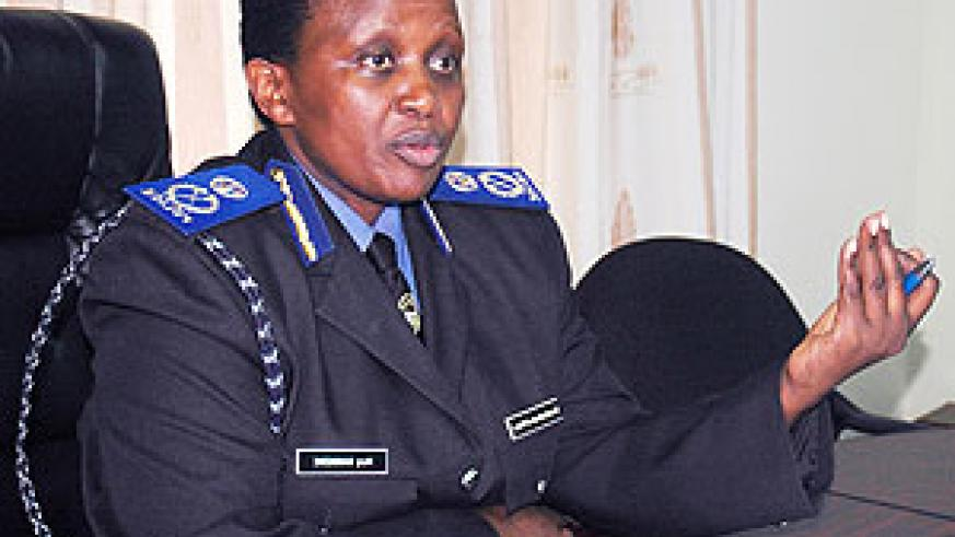 Commissioner General  of Prisons, DCG Mary Gahonzire