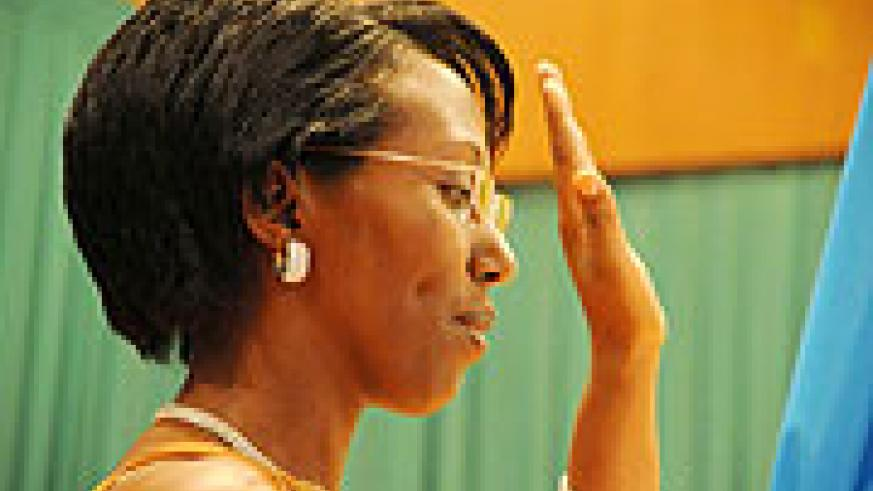 New State Minister for Energy and Water, Colette Uwineza Ruhamya