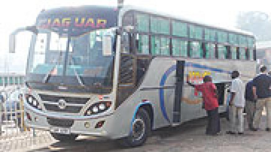 IN DANGER: Interstate Bus services have been targeted in the recent wave of highway armed robberies in Uganda.  (File photo)