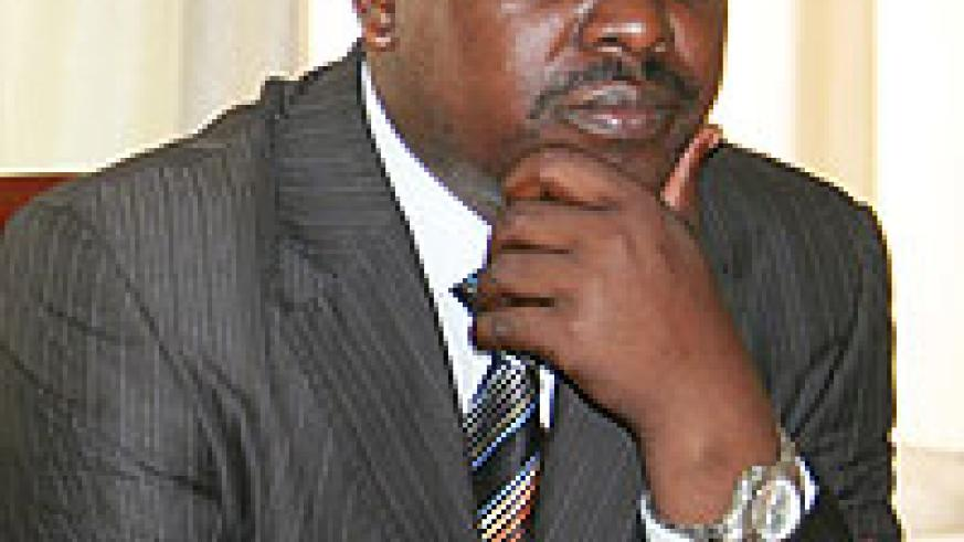 Former Nyarugenge mayor Origene Rutayisire. By-elections to replace him and Claudine Nyinawagaga of Gasabo have been postponed