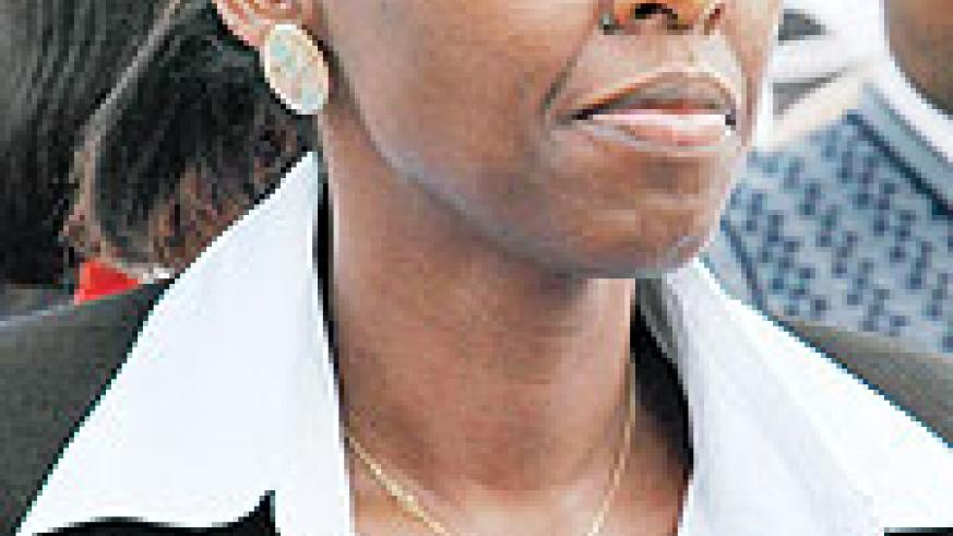 Minister of Agriculture, Agnes Kalibata.