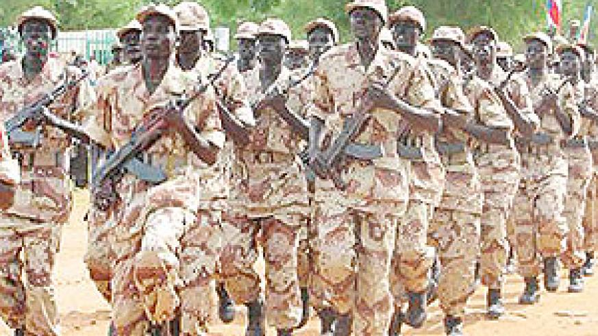 South Sudan's SPLA forces