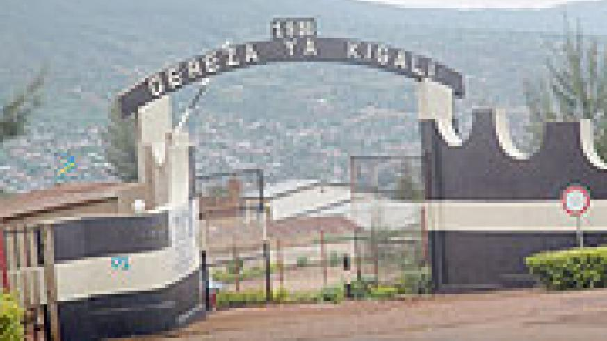 The main entrance of Kigali Central Prison. Prisons officials have vowed to improve the rights of inmates (File Photo)