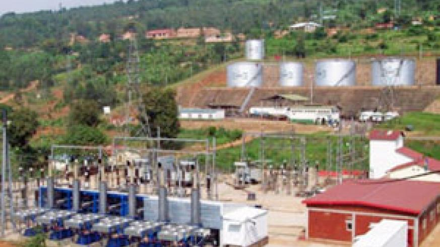 Jabana power plant run by Rwanda Electricity Corporation and Rwanda Water Sanitation Corporation.