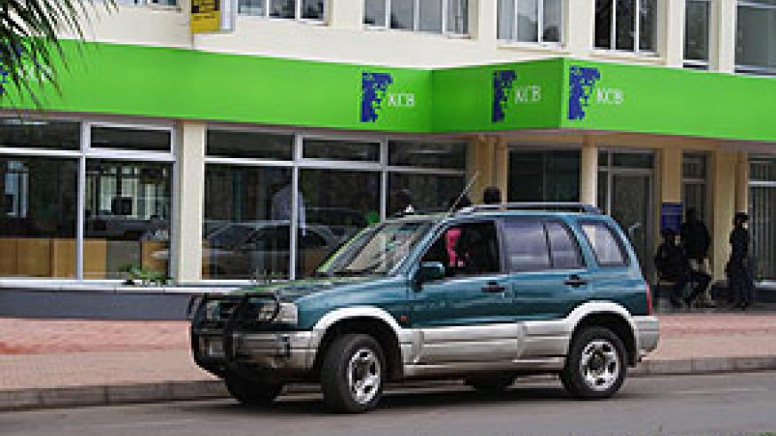 KCB Head Offices in Kigali City. (File Photo)