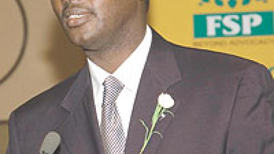 the Chief Executive Officer PSF Emmanuel Hategeka