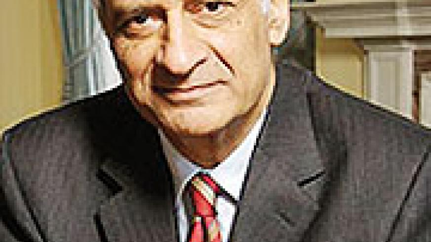 Commonwealth Secretary-General, Kamalesh Sharma.