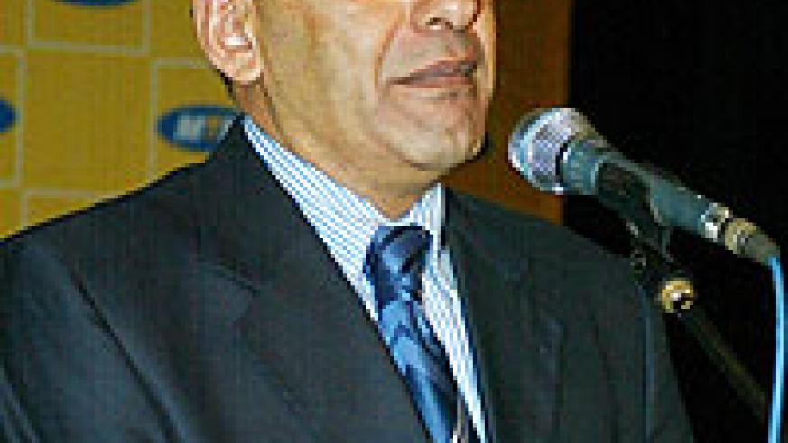 MTN Rwanda boss Khaled Mikkawi (File Photo)