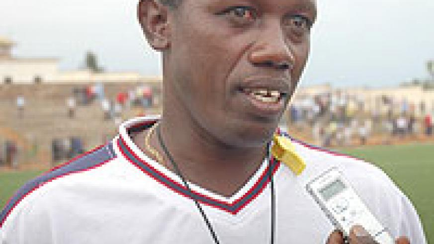 THREATENED TO QUIT: Jean Baptist Kayiranga has threatened to walk out on Rayon Sport.(File Photo)