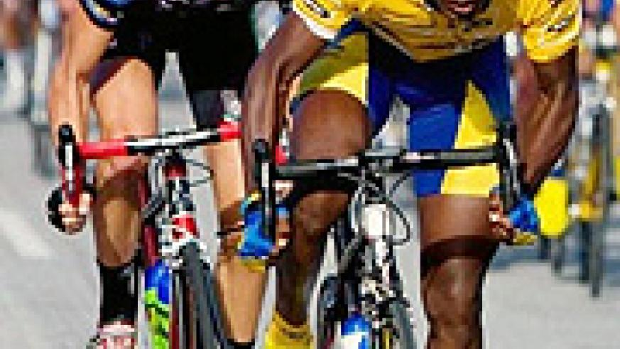 Niyonshuti will ride for his South African club MTN Energade.