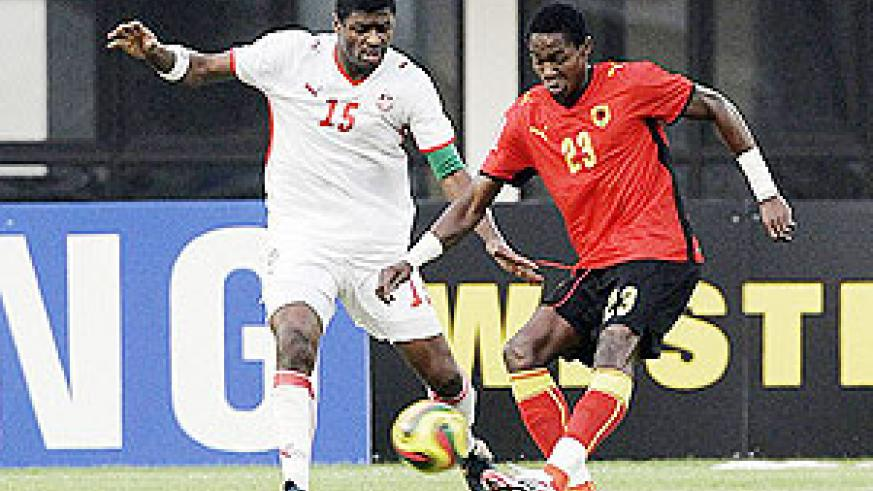 Images from the African Cup of Nations that is taking place in Angola