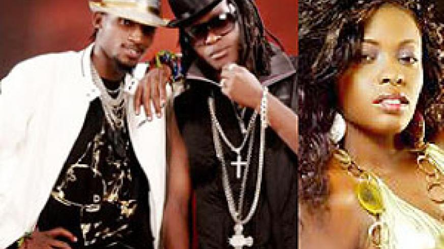 L-R : Radio and Weasel;Grace Nakimera