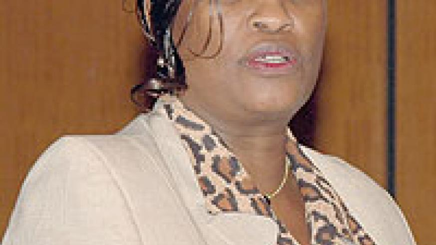 The Deputy Secretary General in charge of Political Federation of the EAC Beatrice Kiraso