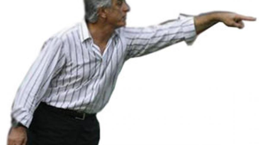 Ivory Coast coach Vahid Halilhodzic gestures during their World Cup 2010 and African Cup of Nations qualification match against Malawi