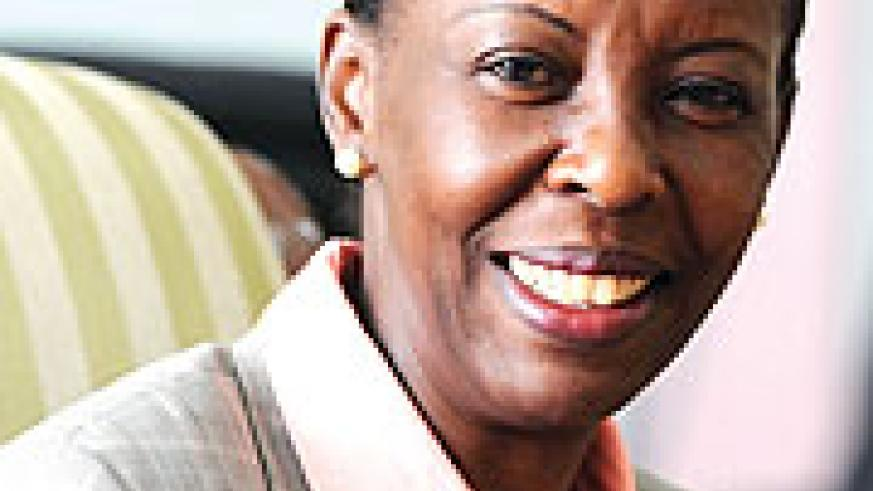 IN ADDIS: Foreign Affairs Minister Louise Mushikiwabo