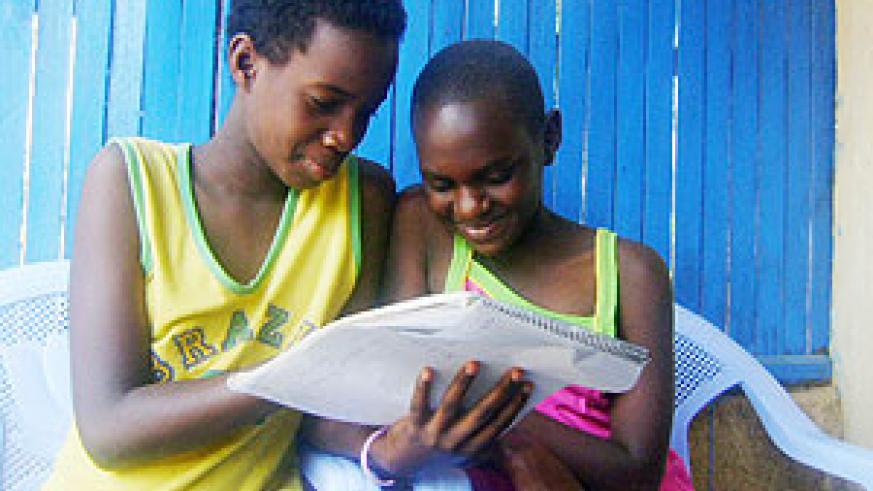 It's necessary to promote the culture of reading among Rwanda's children.