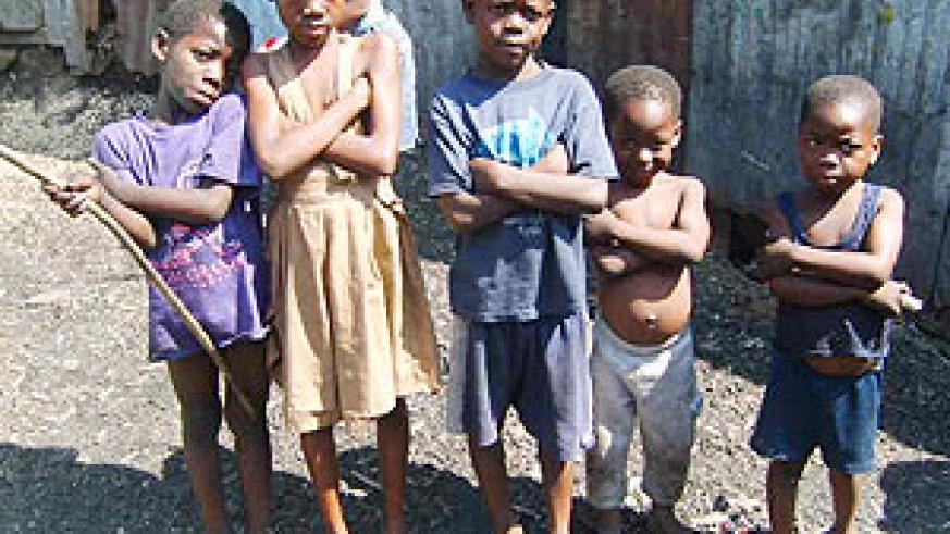 Haitian children are being airlifted into the United States.