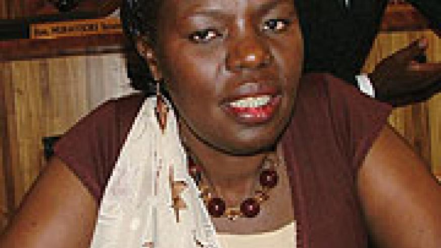 TO BE HONOURED: Judith Kanakuze