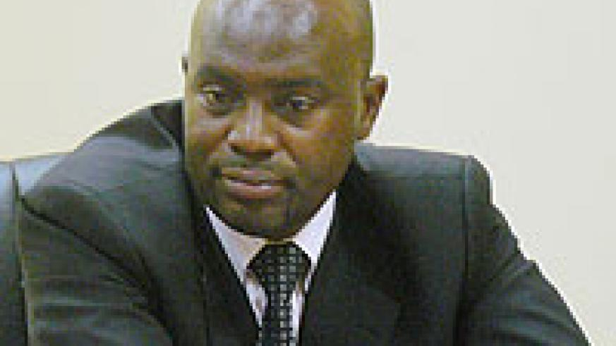 Olivier Kamanzi, Deputy Executive of CMAC.(File photo)