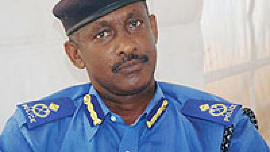The Director of Medical Services in the National Police Ass.Com. Dr. Wilson Rubanzana.