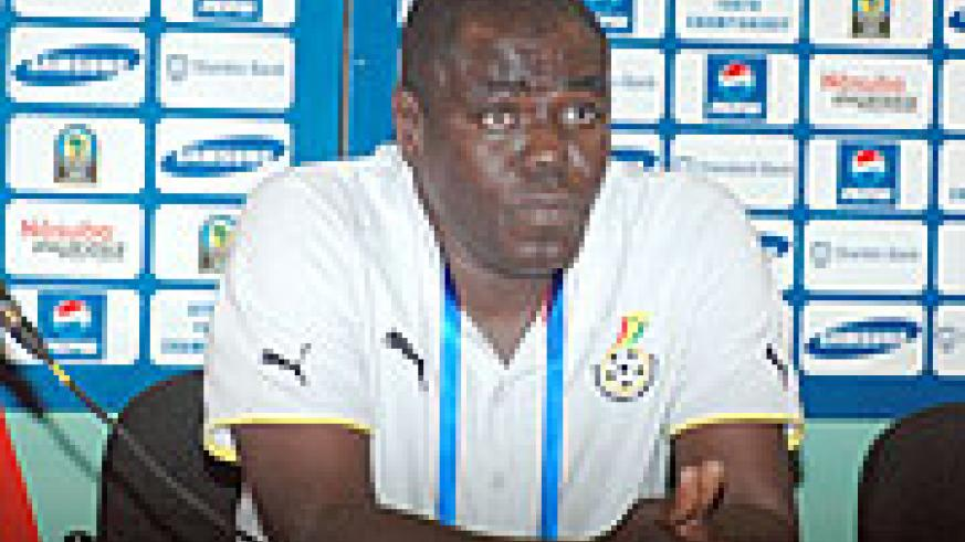 Tetteh is in town for talks with Ferwafa. He is linked to two jobs: Junior Wasps and Amavubi Stars. (File photo)