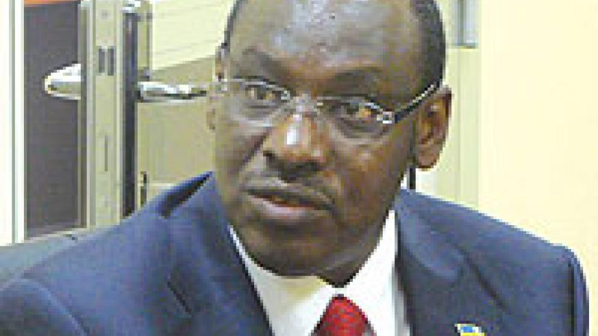 Central Bank Vice Governor, Amb. Claver Gatete