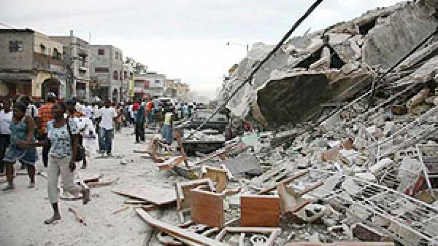 Hundreds of thousands of people have died in Haiti's earthquake.