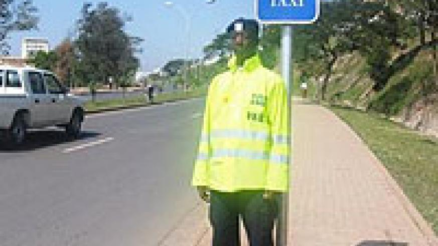 On duty.  Traffic Police officers will arrest drunk and reckless drivers.