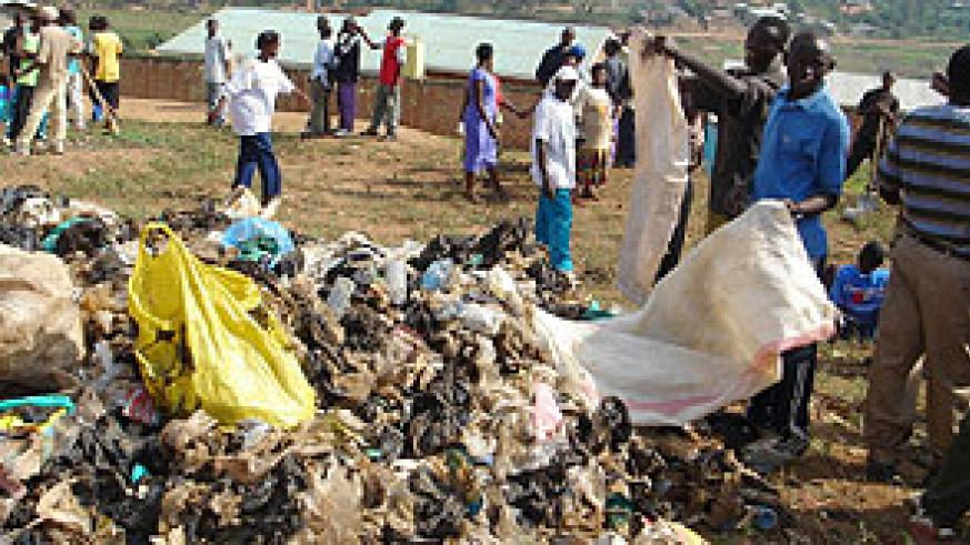 Rwanda's ban on plastic bags has placed the country among those that are part of the 'Green economies'.