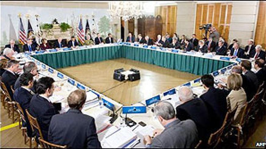 Even the shape of the table for the debate at Blair House, opposite the White House, had been subject to dispute