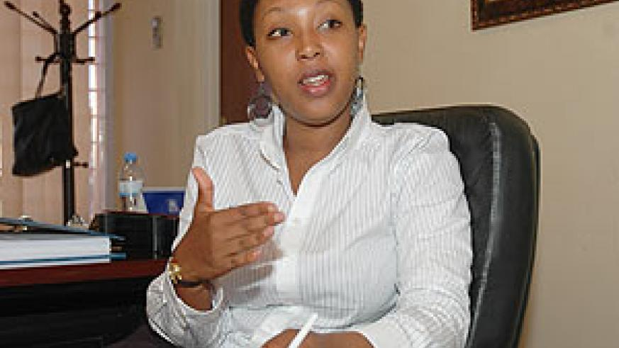 Molly Rwigamba, the Acting CEO of Private Sector Federation (PSF)