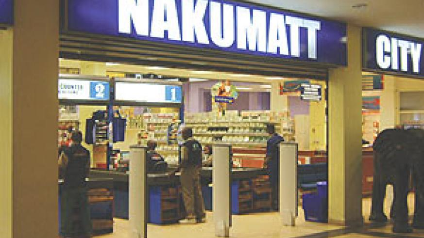 The Nakumatt outlet at Union Trade Center. (File Photo)