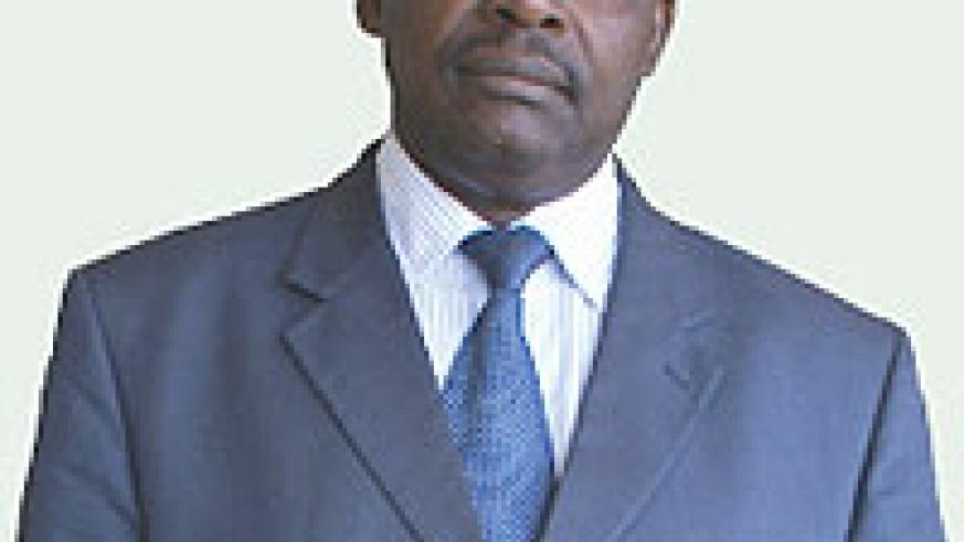 The Governor of the Central Bank Francois Kanimba.