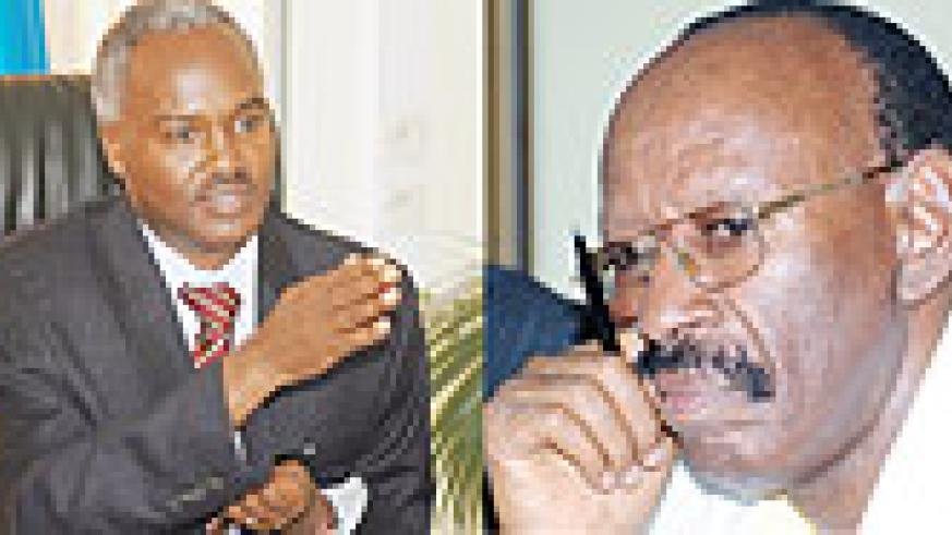 L-R : TO BE SUMMONED; Education Minister Dr. Charles Murigande ;PRESENTED REPORT; Emmanuel Mudidi (File photo)