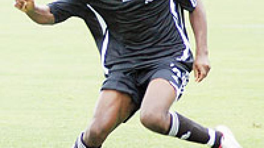 Ngabo is chasing for a starting slot in the return leg of the APR-TP Mazembe Champions League tie. (File photo)