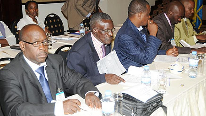 Participants attending the regional meeting on fighting AIDS within armed forces (File Photo)