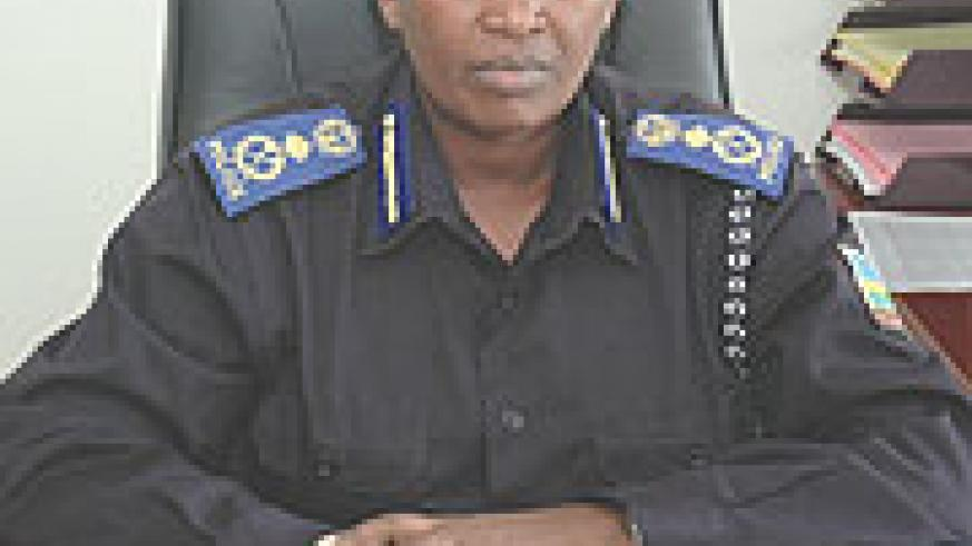 The Commissioner General of the National Prisons Services, Mary Gahonzire. (File photo)