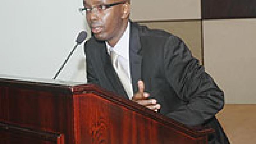 Francis Mugisha, Vice president of ICPAR(Photo/ J. Mbanda)