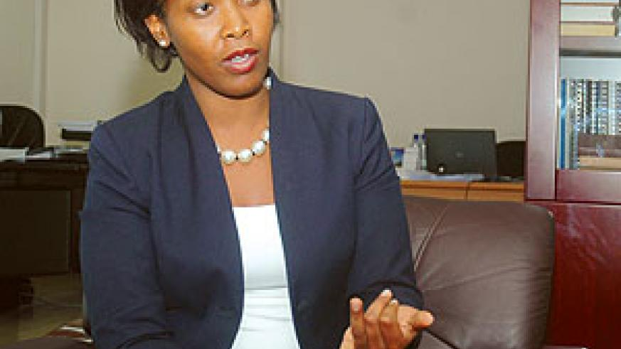 Clare Akamanzi, Deputy CEO in charge of Business Operations Services at Rwanda Development Board (RDB)