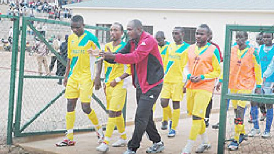 NOW A BLUE; Ruremesha starts his Rayon reign this afternoon against Musanze. (File photo)