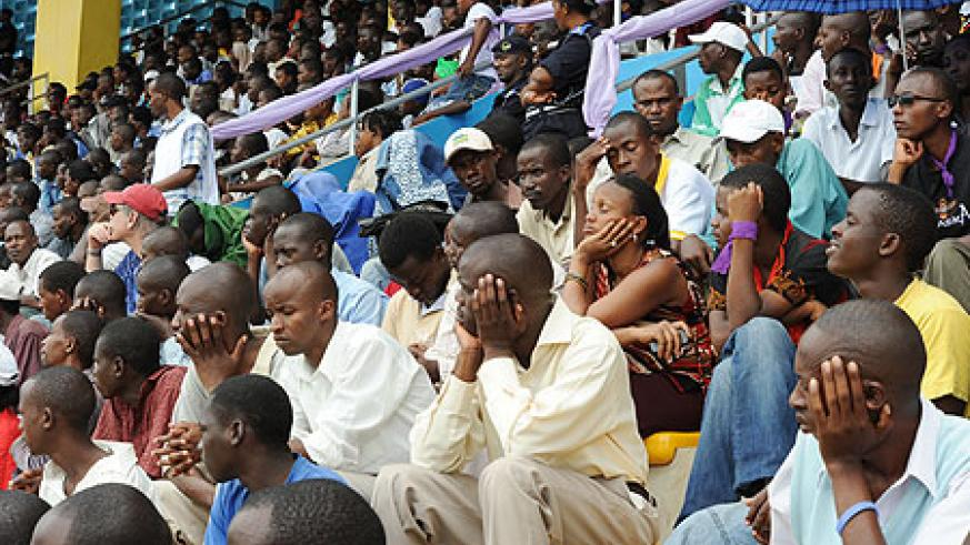 Kigali city Residents who turned up in big numbers  for the commemoration (Photo Urugwiro Village)