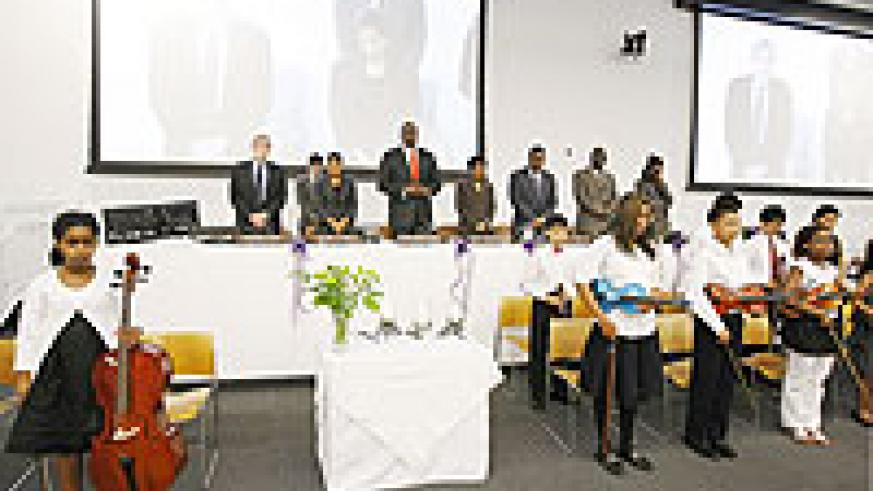 Some of the diplomats who turned up for commemoration in New York.(Courtesy photo)