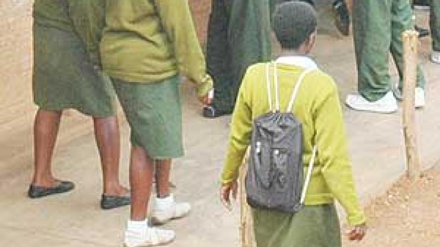 Girls need to be sensitised about menstruation in order to keep them at school.