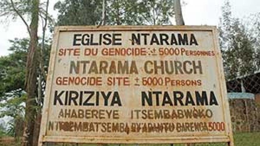 Ntarama Church was used as a killing ground by the genocidaires.