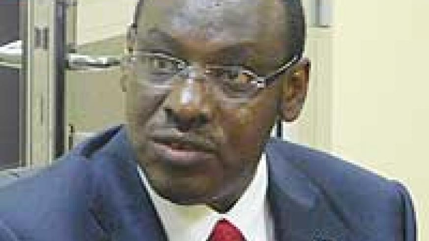 Ambassador Clever Gatete, the Deputy Governor of the Central Bank. (Photo/ J. Gahamanyi)