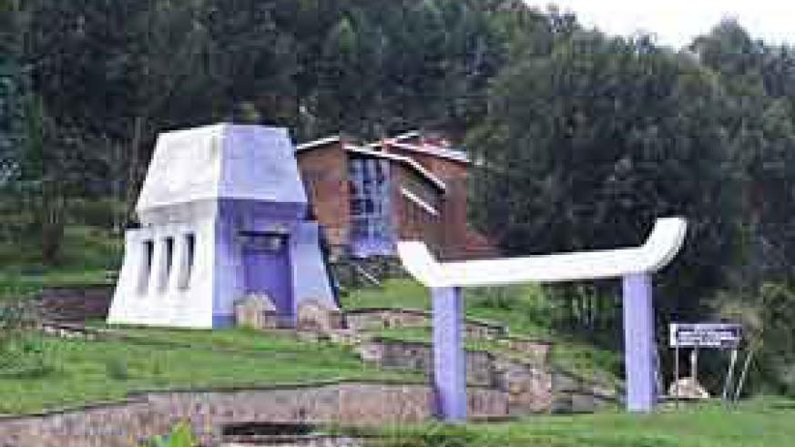 Some of the structures of Bisesero Memorial Site. This is one of the sites to be made priority