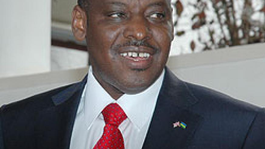 Claver Gatete, the Deputy Governor of BNR.