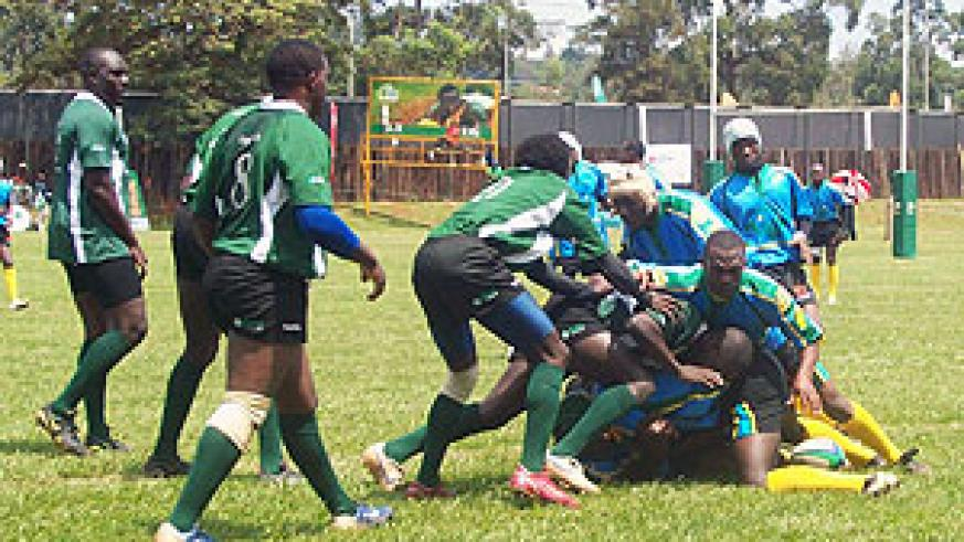 Rwanda's national side 'the Silverbacks' in action during a recent regional event. (File photo)