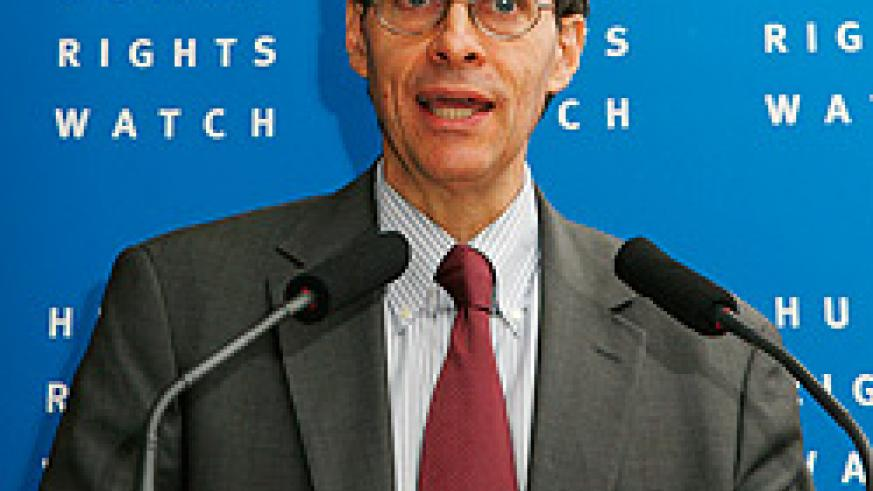 Discredited by the UN. Kenneth Roth, Director Human Rights Watch