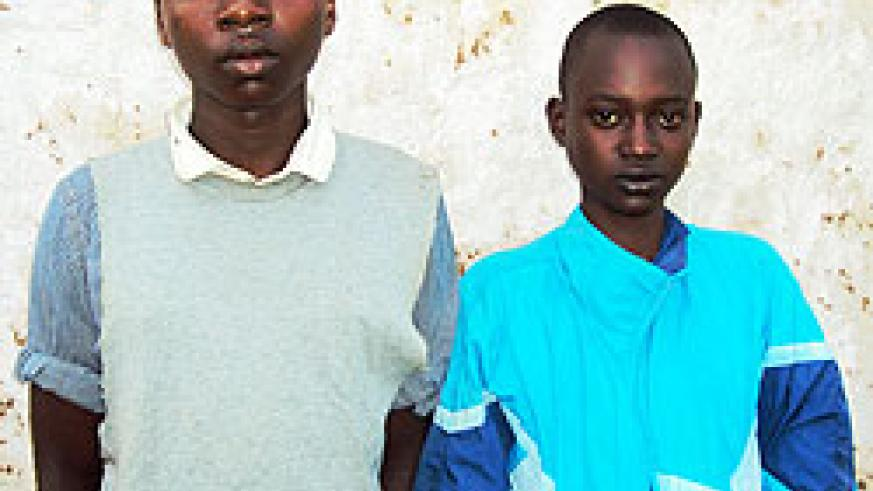 The two children who survided the Rwamagana killings. (Photo S. Rwembeho).